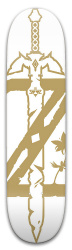 zelda master sorde Park Skateboard 8 x 31.775