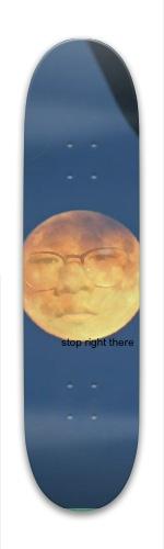Moon man Park Skateboard 7.88 x 31.495