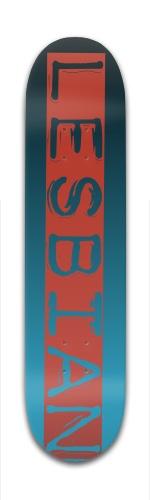 Leabian Banger Park Complete Skateboard 7 3/8 x 31 1/8