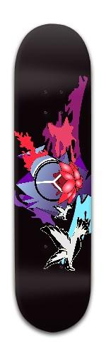 Peace of Mind Banger Park Skateboard 8 x 31 3/4