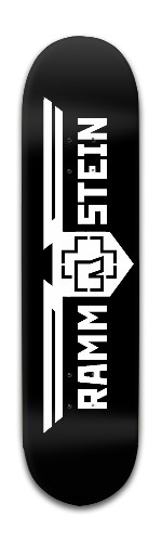 Rammstein Banger Park Skateboard 8 x 31 3/4