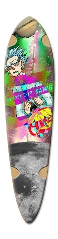 Riggety Wrecked Dart Complete Skateboard Deck v2