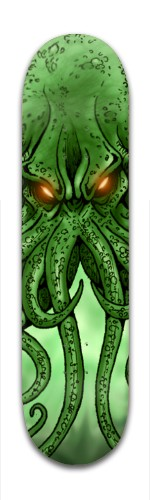 The Call Of Cthulhu Banger Park Skateboard 7 7/8 x 31 5/8