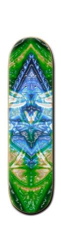 Green Dreams Banger Park Skateboard 8 1/4  x 32