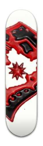 Rebel Red Banger Park Skateboard 8 x 31 3/4
