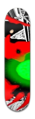 Green Lighter Banger Park Skateboard 8 x 31 3/4
