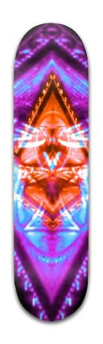 Violet Dreams Banger Park Skateboard 8 x 31 3/4
