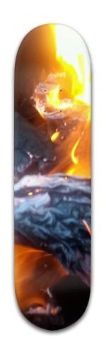 Abstract Vision Banger Park Skateboard 8 x 31 3/4