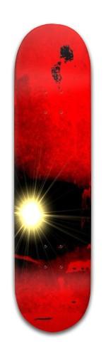 Quantum Spark Banger Park Skateboard 8 x 31 3/4