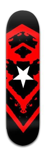 White Star Ensign Banger Park Skateboard 8 x 31 3/4