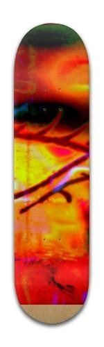 "'sunset lash"" Banger Park Skateboard 8 x 31 3/4"