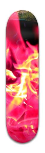 """""""Velvet Dreams"""" Banger Park Skateboard 8 x 31 3/4"""