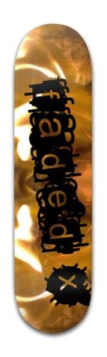 """Faded X"" Banger Park Skateboard 8 x 31 3/4"