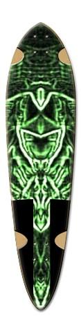 """Sha'Monic"" Dart Skateboard Deck v2"