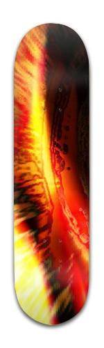 """Red Tide"" Banger Park Skateboard 8 x 31 3/4"