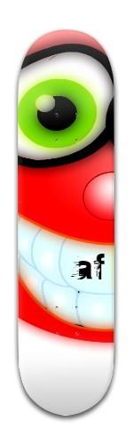 """""""cheese AF' Banger Park Skateboard 8 x 31 3/4"""