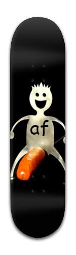 """""""Happy Hotdog AF"""" Banger Park Skateboard 8 x 31 3/4"""