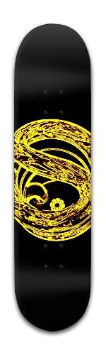 """the Thirsty Serpent"" Banger Park Skateboard 8 x 31 3/4"