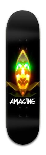 """Amagine"" Banger Park Skateboard 8 x 31 3/4"