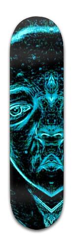 """outer-space Guest"" Banger Park Skateboard 8 x 31 3/4"