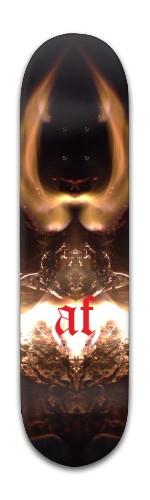"""""""AF Light"""" Banger Park Skateboard 8 x 31 3/4"""