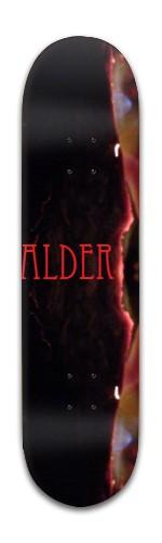 """Eccentric Alder"" Banger Park Skateboard 8 x 31 3/4"