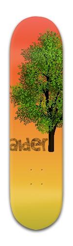 """""""Alder tree"""" Banger Park Skateboard 8 x 31 3/4"""