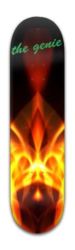 """The Genie"" Banger Park Skateboard 8 x 31 3/4"