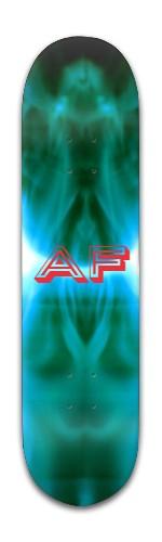 """""""af X-ray' Banger Park Skateboard 8 x 31 3/4"""
