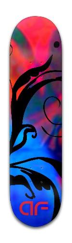 """""""AF Fleria"""" Banger Park Skateboard 8 x 31 3/4"""