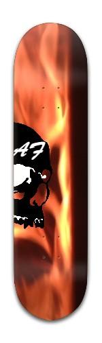 """""""AF Skulldugery"""" Banger Park Skateboard 8 x 31 3/4"""