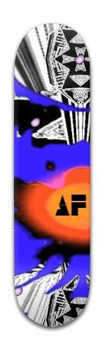 """""""af voetex"""" Banger Park Skateboard 8 x 31 3/4"""