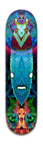 """""""holy Leafthar"""" Banger Park Skateboard 8 x 31 3/4"""