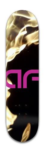 """""""af Super Flame"""" Banger Park Skateboard 8 x 31 3/4"""