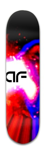 """""""af light Burst"""" Banger Park Skateboard 8 x 31 3/4"""