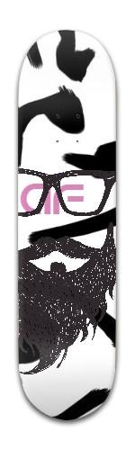af Beard Banger Park Skateboard 8 x 31 3/4