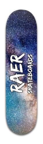 Raer Space deck v2 Banger Park Skateboard 8 x 31 3/4