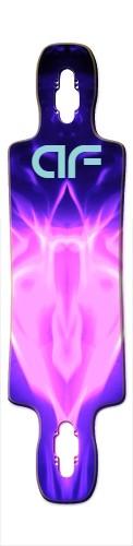 af Pink Master Gnarlier 38 Skateboard Deck v2