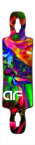 af Splash Gnarlier 38 Skateboard Deck v2