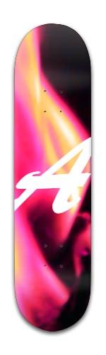 A for Alder Banger Park Skateboard 8 x 31 3/4