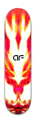 af flame god Banger Park Skateboard 8 x 31 3/4