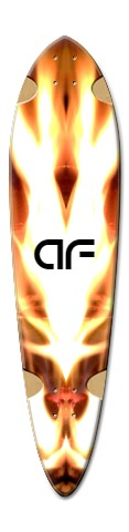 af dart flame Dart Skateboard Deck v2