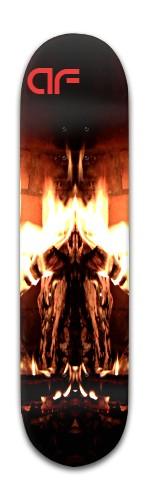 """af """"welcome to hell"""" Banger Park Skateboard 8 x 31 3/4"""
