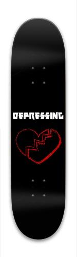 'Depressing' Park Skateboard 8 x 31.775