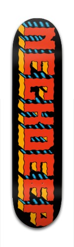 Neck Deep logo Banger Park Skateboard 7 3/8 x 31 1/8
