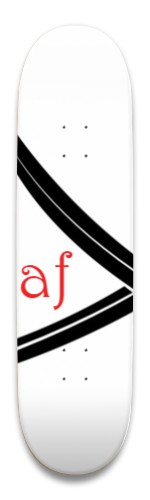 """AF """"the String"""" Park Skateboard 8.5 x 32.463"""