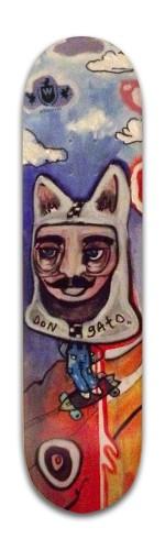 Don Gato Banger Park Skateboard 8 x 31 3/4