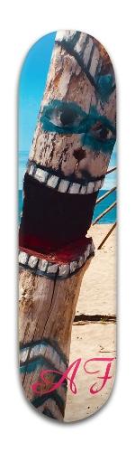 The Driftwood Screamer Banger Park Skateboard 8 x 31 3/4