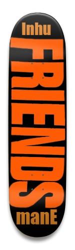 """VLone """"Friends"""" X Inhumane Park Skateboard 8.5 x 32.463"""