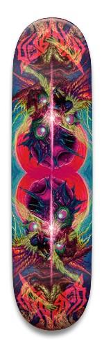 Mirror Terror board Park Skateboard 8.5 x 32.463